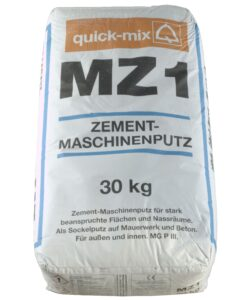 MZ 1 Zementmaschinenputz